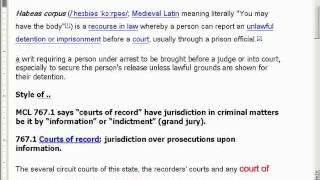 "Case Dismissed ""Administratively"""