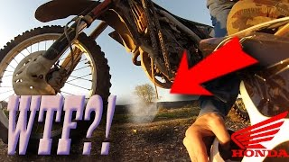 CRF 450 After Engine Rebuild - What Can Go Wrong?
