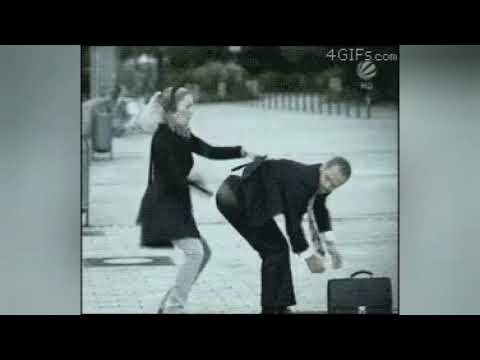 Девушка прикалолась над мужиком!
