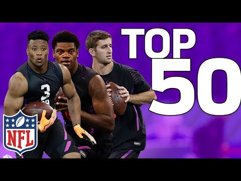 Top 50 NFL Prospects Post Combine   NFL Highlights
