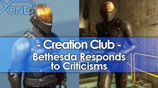 Bethesda Responds to Creation Club Criticisms, Insists It's Not Paid Mods
