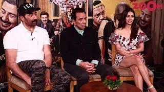 'Yamla Pagla Deewana Phir Se' Cast Interview | Sunny Deol, Dharmendra, Kriti Kharbanda | Exclusive