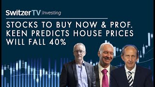 Stocks to buy now and Prof. Keen house prices will fall 40%, is he wrong?   Episode 10   Switzer TV