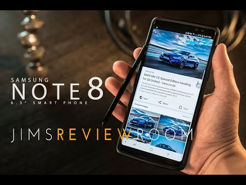 Samsung Note 8 Smartphone – REVIEW