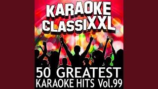 Voglio Restare Cosi (Karaoke Version) (Originally Performed By Andrea Bocelli)