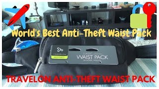 Travelon Anti-Theft Waist Pack | Non-Affiliated Unboxing & Review
