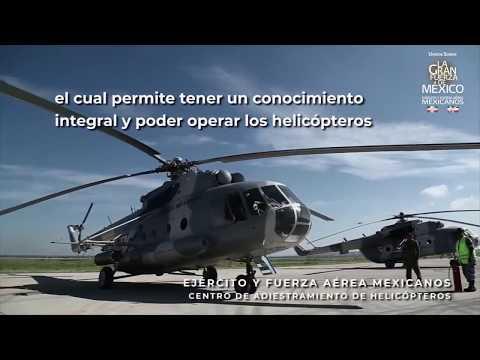 Centro de adiestramiento de helicópteros de Jalisco, México VÍDEO: DEFENSA NACIONAL