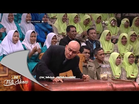 Ini Talk Show 27 November 2015 Part 1/4 - Deddy Corbuzier, Volland Humonggio, Chika Jessica