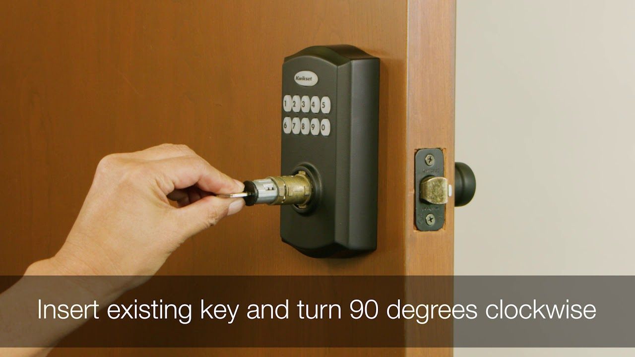 Re keying the Kwikset Smartcode 955