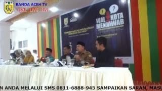 Live Walikota Banda Aceh Menjawab