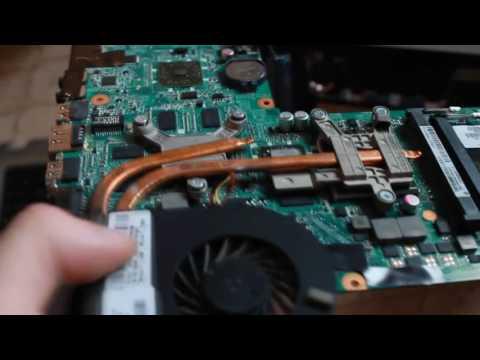 Как починить южный или северный мост на ноутбуке в домашних условиях HP DV6