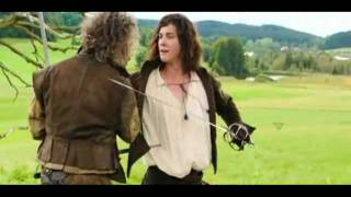 Мушкетёры, The Three Musketeers 2011 scene clip 1- D'artagnan trains