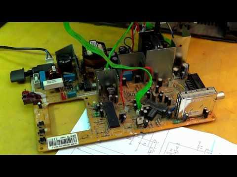 Ремонт шасси 12.6 фирмы Beko. Неисправный процессор.