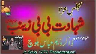 Download Zakir Waseem Abbas Baloch 2019 Majlis Fazail o