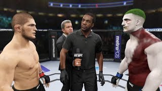 Khabib vs. Diesel (EA Sports UFC 2) - Champion Fight ☝️🦅