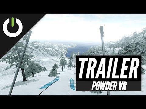 First trailer PCVR de Terje Haakonsen's Powder VR
