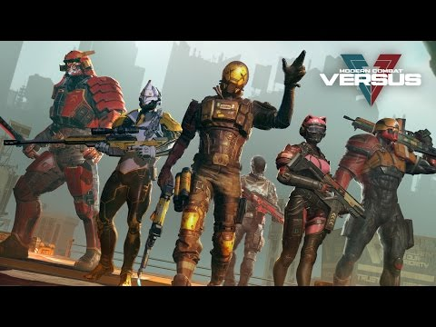 Vídeo do Modern Combat Versus: New Online Multiplayer FPS