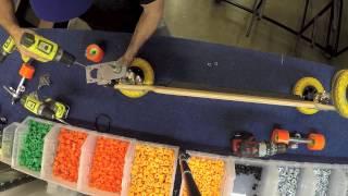Evolve Skateboards: 2 in 1 kit assembly tutorial.