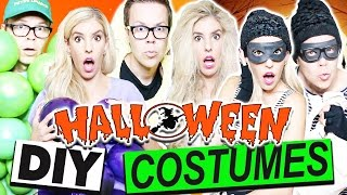 DIY HALLOWEEN COUPLES COSTUMES | Cheap And Easy!!