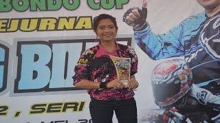 Joki Drag Wanita Cantik Nouna Chiko J Queen #27 Matic tu 200cc 8,231 Detik
