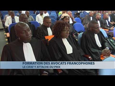 18è session de formation  des avocats francophones