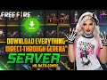 HOW TO GET EVERYTHING IN FREE FIRE / DOWNLOAD EVERYTHING THROUGH GERENA / GAMING FEVER