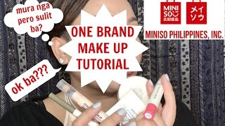 Miniso Philippines One Brand Make Up Tutorial | It's Lalaine's Thing