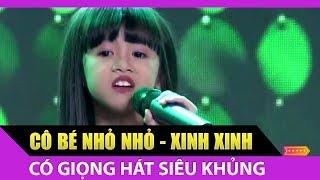 Mix - Quang Lê 'hết hồn' vì cô bé nhỏ nhắn có giọng hát 'siêu khủng'  | Tập 1 Thử Tài Siêu Nhí