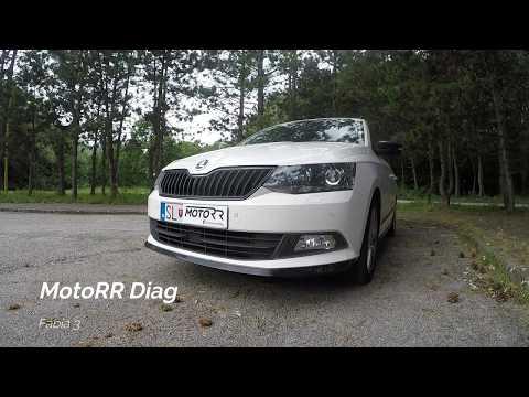 MotoRR Diag - Škoda Fabia 3 - Automatické zamykanie autá
