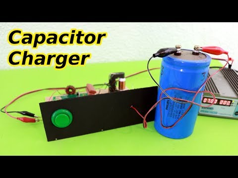 High Voltage Capacitor Charger