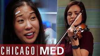Dr Manning Helps Musician Who May Lose Hearing | Chicago Med