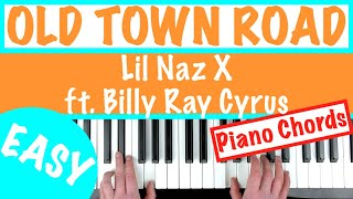 old town road karaoke piano slow - TH-Clip