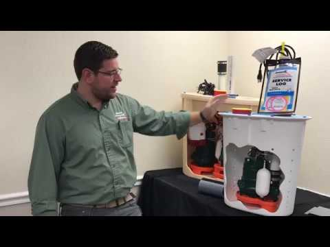 SmartSump Sump Pump System: The heart of our crawl space drainage system!