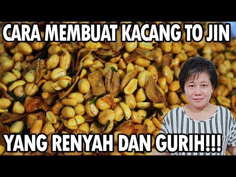Resep : Kacang To Jin Bawang Putih Yang Renyah!!!