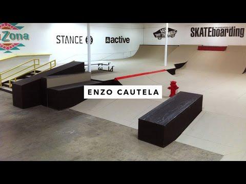 TWS Park: Enzo Cautela | TransWorld SKATEboarding