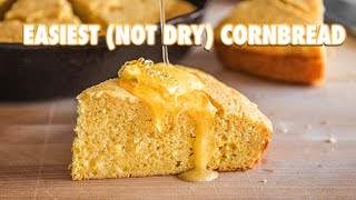 Ultra Easy 30 Minute Cornbread