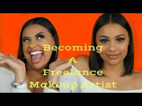 How To: Become A Freelance Makeup Artist (Beginners) | Evette Santos