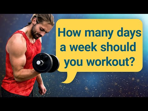 How Many Days A Week Should You Workout? | #DeepDives | Health