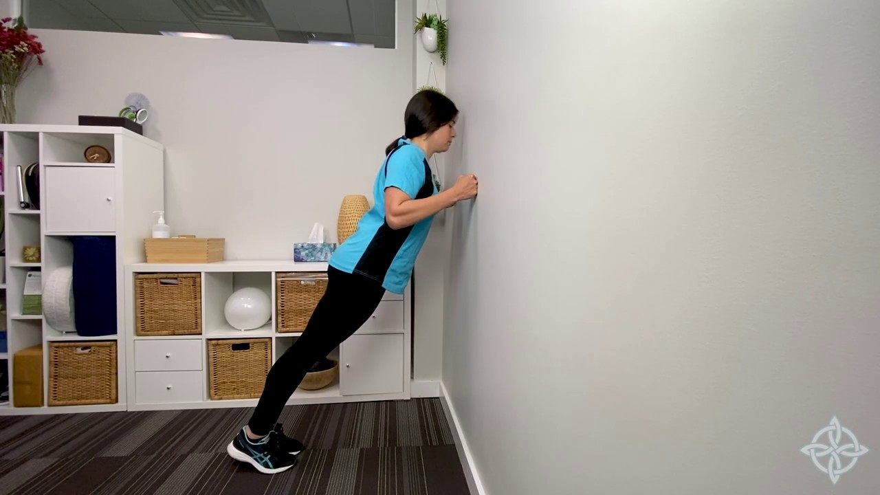 Photo of Standing Wall Push Up