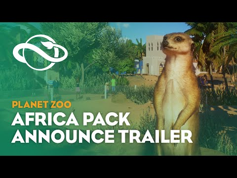 Annonce Pack Afrique de Planet Zoo