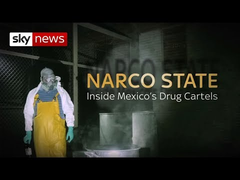 Inside Mexico's Drug Labs | Narco State | Sky News