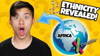 WHAT IS EVANTUBEHD'S ETHNICITY??? DNA Results from 23andME! I Am Part African!