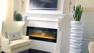 DIY Fireplace Mantel Home Decor DIY Interior Design Ideas Install A Mantel Decorate A Fireplace