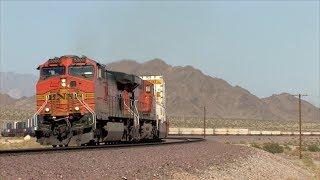 HD: Needles Subdivision Railfanning In May 2014