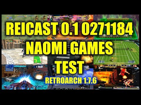 TEST NAOMI REICAST CORE RETROARCH NVIDIA SHIELD TV