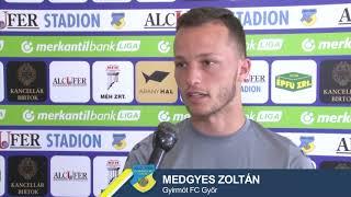 Medgyes Zoltán: A csapat hasznára szeretnék lenni