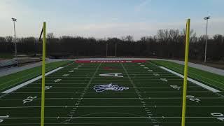 Drone Racing - Assumption High School Football Field - Davenport, IA - DJI Air 2