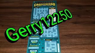 🙏THIS IS FOR GERRY12250🙏 $20 $250,000 CROSSWORD - ARIZONA LOTTERY