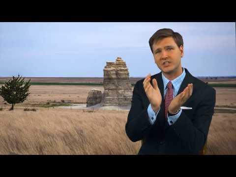 Clams in Kansas | Paleontology at the 'Niobrara Formation' | David Rives