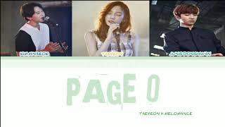 ( SUB INDO ) TAEYEON (태연) X MELOMANCE (멜로망스)   'Page 0' LYRICS [HAN|ROM|INDO COLOR CODED] 가사